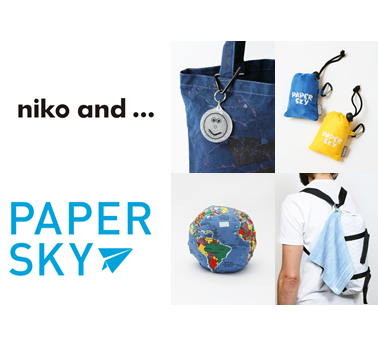 niko and ... TOKYOにて旅雑誌「PAPERSKY」のポップアップストアを開催