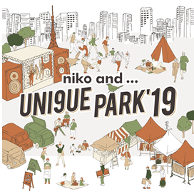 「niko and ... UNI9UE PARK'19」の2日目にPES(ペス)の出演が決定!