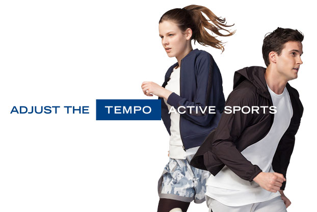 ADJUST THE TEMPO ACTIVE SPORTS